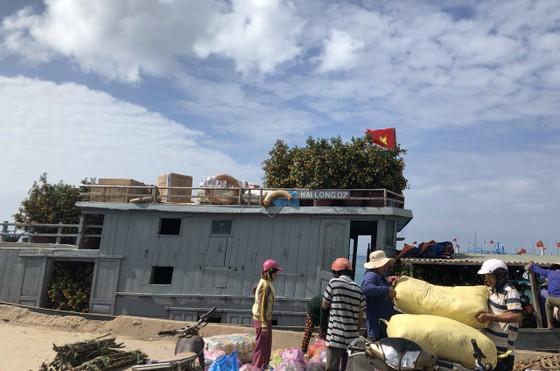 Những chuyến tàu 'chở tết' ra đảo Lý Sơn ảnh 13