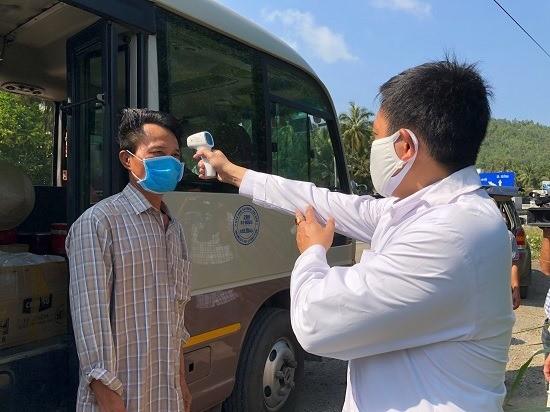 Lập 9 chốt kiểm tra y tế phòng, chống dịch Covid-19 ở Quảng Ngãi ảnh 2