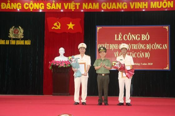 Bổ nhiệm tân Giám đốc Công an tỉnh Quảng Ngãi ảnh 1
