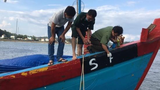 Quảng Ngãi: Một chủ tàu phải nộp phạt 900 triệu đồng vì khai thác thủy sản không có giấy phép ảnh 1