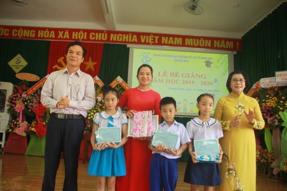 Nhiều học sinh Trung tâm Võ Hồng Sơn hòa nhập cộng đồng ảnh 2