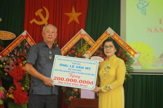 Nhiều học sinh Trung tâm Võ Hồng Sơn hòa nhập cộng đồng ảnh 10