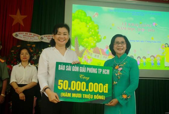 Khoảng 2 tỷ đồng hỗ trợ Trung tâm Nuôi dạy trẻ khuyết tật Võ Hồng Sơn  ảnh 3