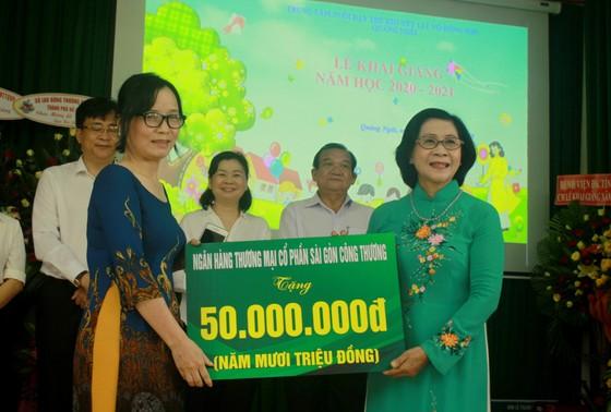 Khoảng 2 tỷ đồng hỗ trợ Trung tâm Nuôi dạy trẻ khuyết tật Võ Hồng Sơn  ảnh 10