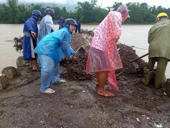Hàng trăm hecta nông nghiệp và thủy sản tại Quảng Ngãi bị thiệt hại, lũ đang rút ảnh 2