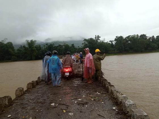 Hàng trăm hecta nông nghiệp và thủy sản tại Quảng Ngãi bị thiệt hại, lũ đang rút ảnh 3