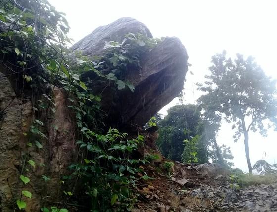 Quảng Ngãi di dời 300 người dân vì vết nứt núi sạt lở kéo dài ảnh 2