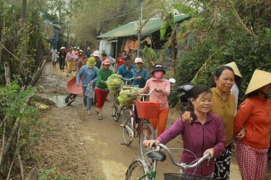 Xóm ốc đảo sông Trà Bồng khắc phục sau lũ ảnh 10