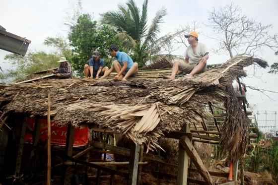 Xóm ốc đảo sông Trà Bồng khắc phục sau lũ ảnh 1