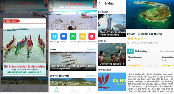 Quảng Ngãi ra mắt ứng dụng Du lịch Quảng Ngãi ảnh 3