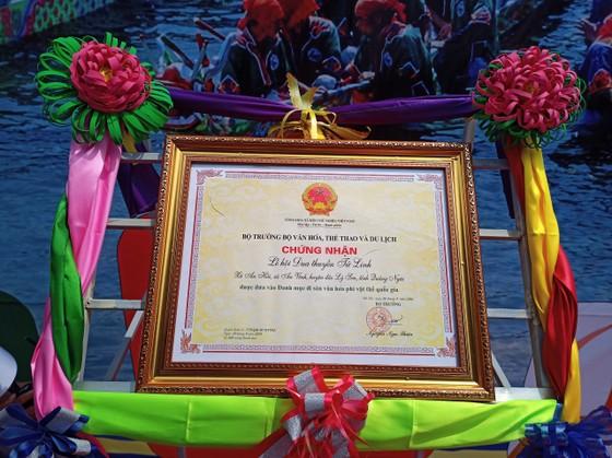 Lễ hội đua thuyền tứ linh Lý Sơn được công nhận là di sản văn hóa phi vật thể quốc gia ảnh 2