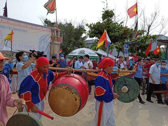 Lễ hội đua thuyền tứ linh Lý Sơn được công nhận là di sản văn hóa phi vật thể quốc gia ảnh 10