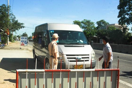Tạm dừng hoạt động vận tải hành khách tuyến Quảng Ngãi - Đà Nẵng từ 0 giờ ngày 20-6 ảnh 1