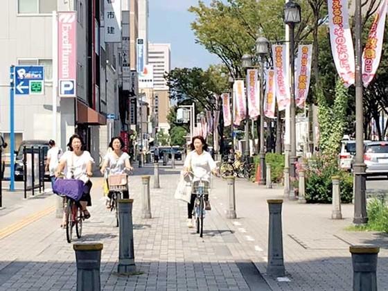 Đi xe đạp ở Nhật Bản ảnh 1