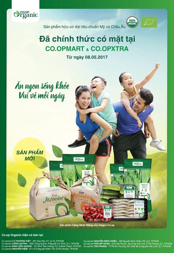 7 siêu thị lớn bán thực phẩm Co.op Organic chuẩn quốc tế ảnh 2