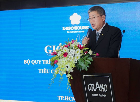 Công bố quy trình Quản lý khách sạn 5 sao tiêu chuẩn Saigontourist ảnh 1