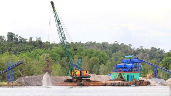 Campuchia cấm bán cát cho Singapore ảnh 1