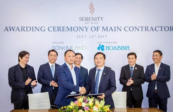 Tập đoàn Xây dựng Hòa Bình là nhà thầu chính cho dự án Serenity Sky Villas ảnh 1