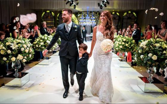 Khách dự đám cưới Messi bị chỉ trích ảnh 1