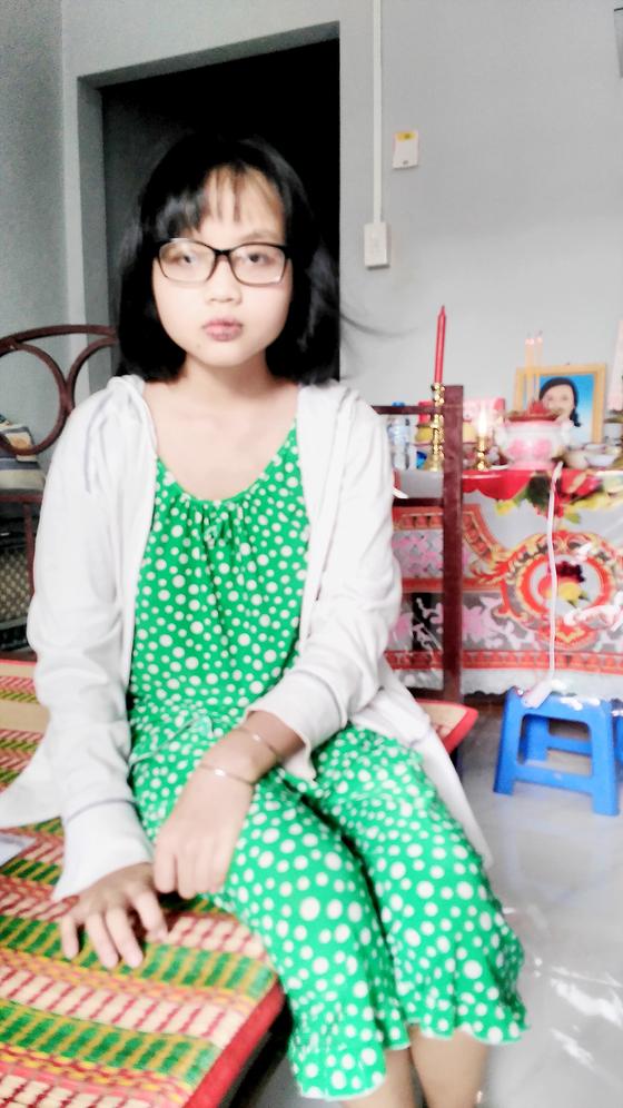Mong sẻ chia cùng cô gái mồ côi, bệnh tật ảnh 1