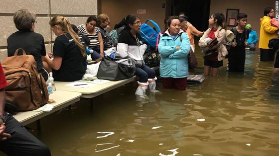 Siêu bão Harvey trút xuống Texas 34.000 tỷ lít nước   ảnh 2