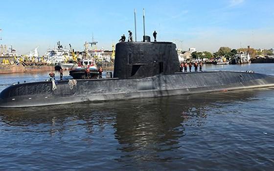 Argentina ngừng các hoạt động cứu hộ tàu ngầm mất tích ảnh 1