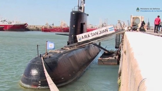 Argentina ngừng các hoạt động cứu hộ tàu ngầm mất tích ảnh 2