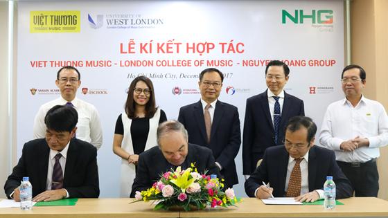 NHG hợp tác với LCM và Việt Thương triển khai chương trình đào tạo âm nhạc theo tiêu chuẩn quốc tế ảnh 1