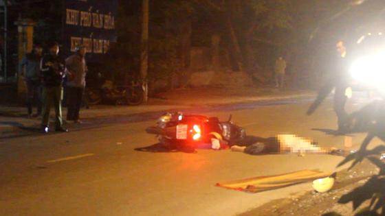 Truy tìm xe container cán chết người đàn ông lúc rạng sáng. ảnh 1