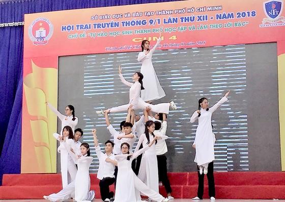 Hơn 10.000 học sinh TPHCM dự ngày hội truyền thống 9-1 ảnh 1