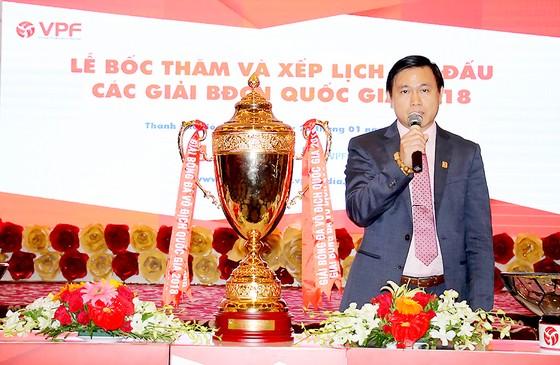 """""""V-League 2018 sẽ có 1,5 suất xuống hạng"""" ảnh 1"""