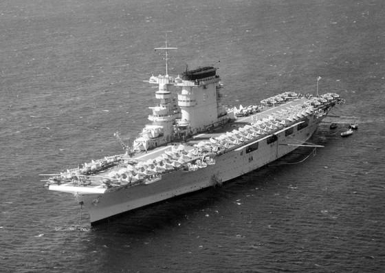 Tìm thấy xác tàu sân bay USS Lexington của Mỹ bị đánh chìm 76 năm trước ảnh 1