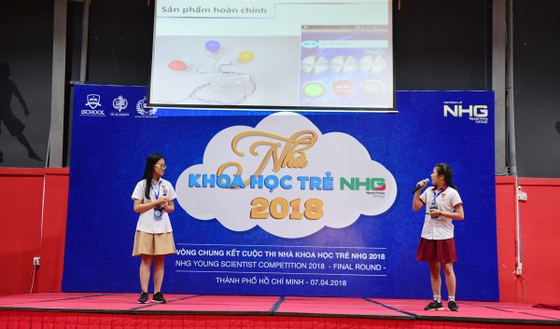 Sôi nổi vòng chung kết Hội thi Nhà khoa học Trẻ NHG 2018 ảnh 6
