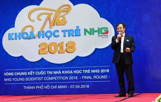 Sôi nổi vòng chung kết Hội thi Nhà khoa học Trẻ NHG 2018 ảnh 1