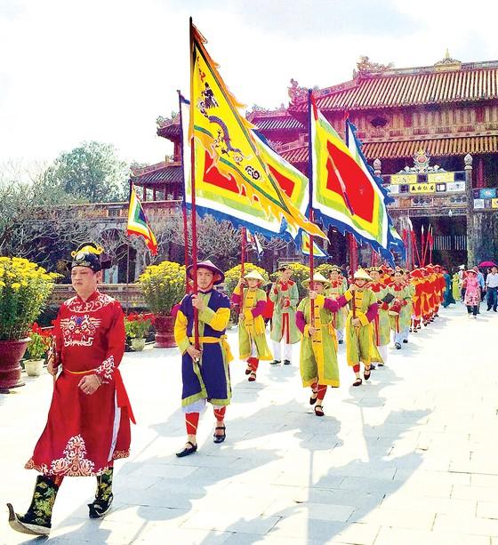 Nét đẹp lễ hội đầu Xuân Huế ảnh 1