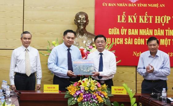 Saigontourist hợp tác chiến lược với tỉnh Nghệ An ảnh 1