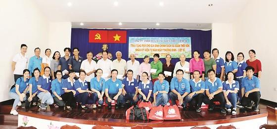 Công ty XSKT TPHCM tổ chức các hoạt động kỷ niệm Ngày Thương binh Liệt sĩ 27-7 ảnh 2