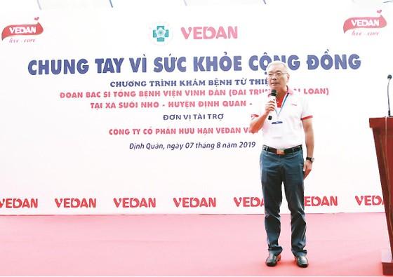 Công ty Vedan Việt Nam khám bệnh từ thiện và phát thuốc miễn phí tại tỉnh Đồng Nai ảnh 2