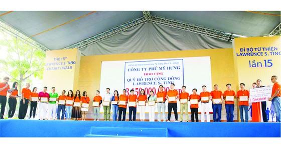 Tập đoàn Xây dựng Hòa Bình - 15 năm đồng hành cùng bước chân thiện nguyện Lawrence S. Ting ảnh 2