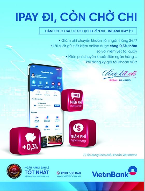 VietinBank tung siêu ưu đãi khi giao dịch trực tuyến mùa nCoV ảnh 1