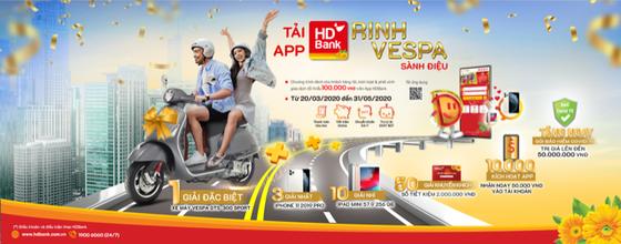 Ra mắt chương trình 'Tải App HDBank – Rinh Vespa sành điệu' từ HDBank ảnh 2