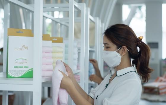 Phong Phú ra mắt sản phẩm khăn kháng khuẩn cao cấp  ảnh 1