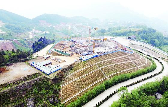 Đóng nắp hầm dự án Lady Hill Resort Sa Pa ảnh 1