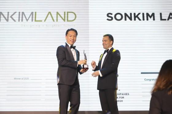 SonKim Land đạt giải thưởng 'Môi trường làm việc tốt nhất châu Á 2020' ảnh 1