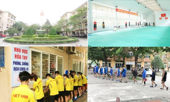 Trung tâm HLTTQG Đà Nẵng quyết định cấm trại đối với tất cả VĐV đang tập huấn tại đây. Ảnh: PHƯƠNG MINH