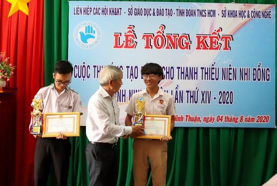 Học sinh iSchool Ninh Thuận giành giải nhất cuộc thi Khoa học Sáng tạo cấp tỉnh ảnh 3