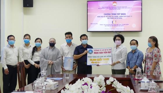 Tiếp nhận quà ủng hộ công tác phòng chống dịch Covid-19 tại Đà Nẵng ảnh 1