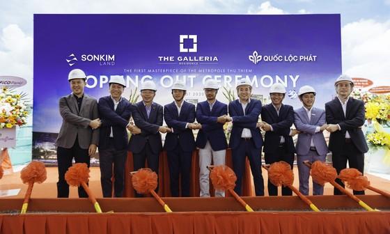 SonKim Land tổ chức lễ cất nóc dự án The Galleria Residence ảnh 2