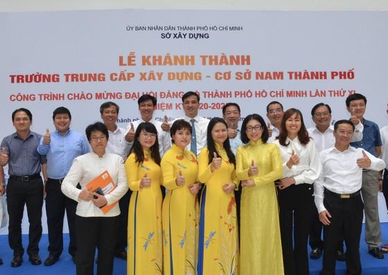 Khánh thành Trường Trung cấp Xây dựng – Cơ sở Nam TPHCM ảnh 4