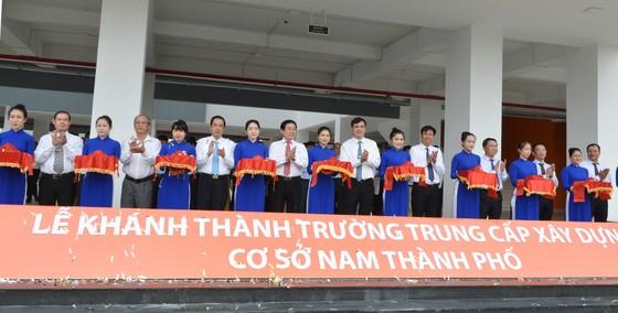 Khánh thành Trường Trung cấp Xây dựng – Cơ sở Nam TPHCM ảnh 1